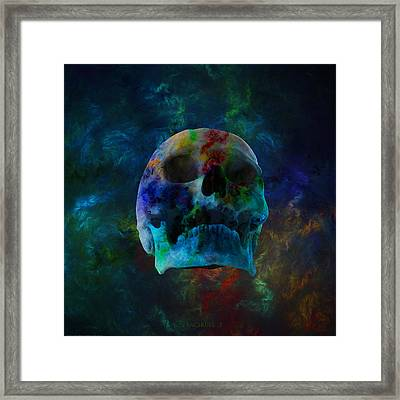 Fracskull 3 Framed Print by Chris Thomas