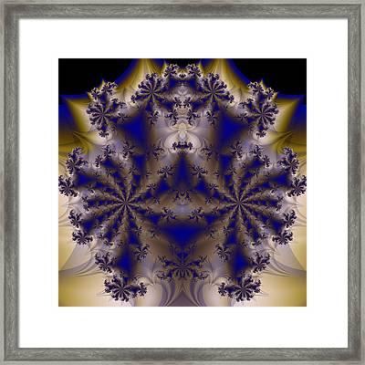Fractal 00070 Framed Print by George Cuda