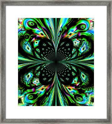 Fractal Framed Print by Arlene Sundby