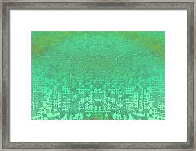 Fractal Art Framed Print by Carol & Mike Werner