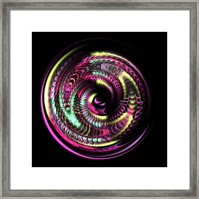 Fractal Bubble 3 Framed Print