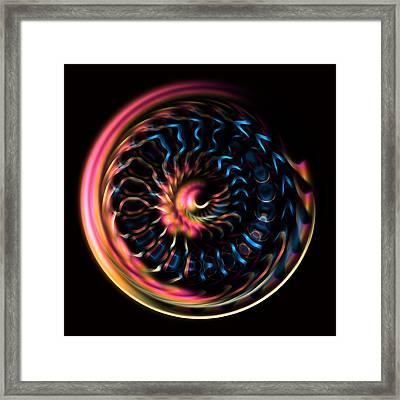 Fractal Bubble 4 Framed Print