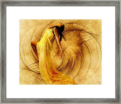 Fractal Dance Of Joy Framed Print by Gun Legler