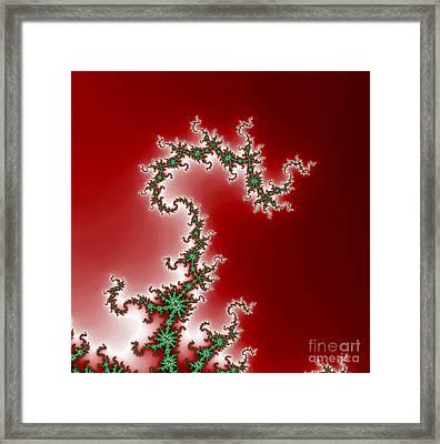 Fractal Dragon Framed Print