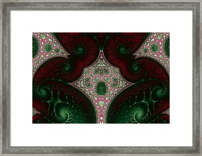 Fractal Engineering No. 7 Framed Print by Mark Eggleston
