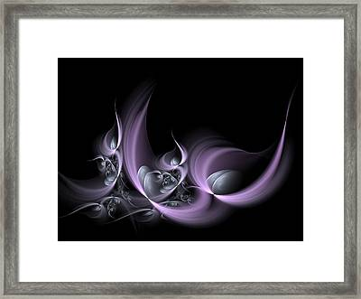 Fractal Fruits Framed Print