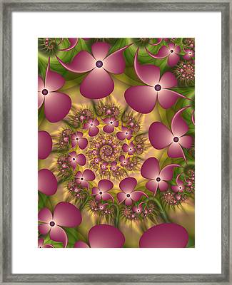 Fractal Joy Framed Print
