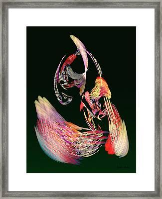 Fractal - Parrot Framed Print by Susan Savad