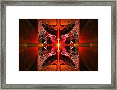 Fractal - Science - Cold Fusion Framed Print by Mike Savad