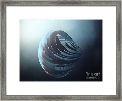 Fractal Sphere  Framed Print