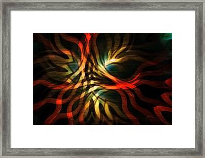 Fractal Swirl Framed Print