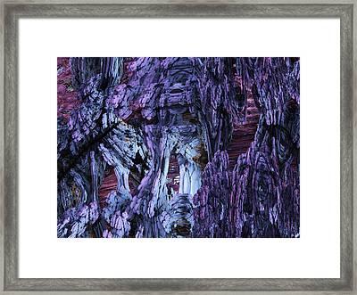 Fractal121413 Framed Print by Matt Lindley
