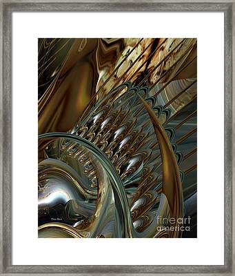 Fractals Framed Print by Doris Wood