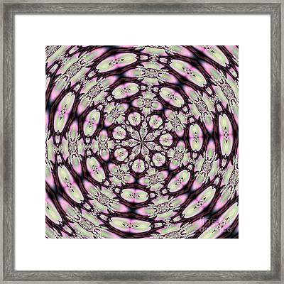 Fractalscope 30 Framed Print