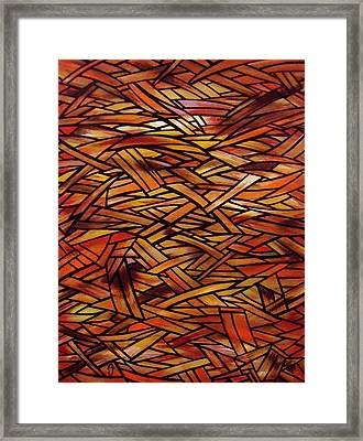 Fracture Framed Print by Anthony Schwed