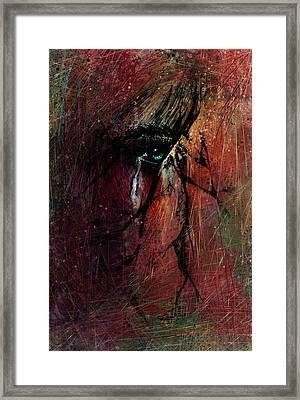 Fracture Framed Print by Rachel Christine Nowicki