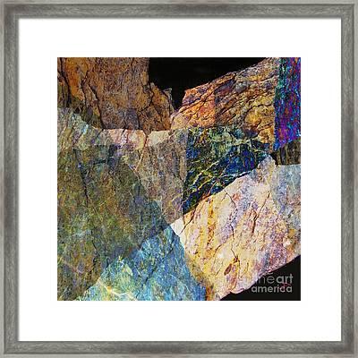 Fracture Xxvi Framed Print by Paul Davenport