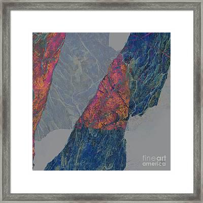 Fracture Xxx Framed Print by Paul Davenport