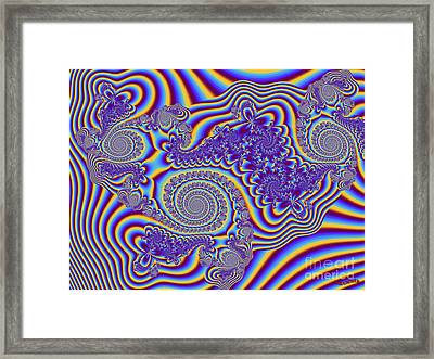 Fractured Fairy Tales Framed Print by Bobby Hammerstone