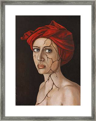 Fractured Identity Edit 1 Framed Print by Leah Saulnier The Painting Maniac