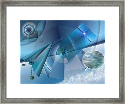 Interdimensional Framed Print