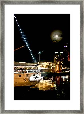 Framed Print featuring the photograph Fragata  by Silvia Bruno