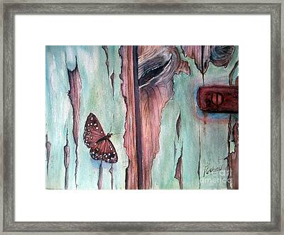 Fragile Beauty Framed Print by Patricia Pushaw