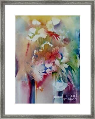 Fragile Flowers Framed Print