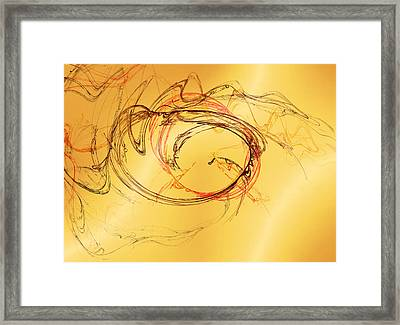 Fragile Not Broken Framed Print
