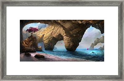 Fragility Of Life Framed Print by Steve Goad