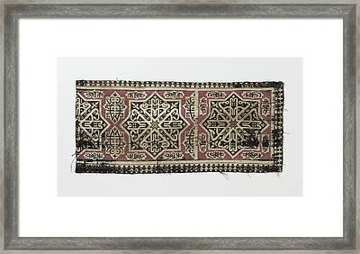 Fragment Of A Tissue, Anonymous Framed Print by Quint Lox
