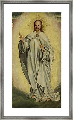 Fragment With The Transfiguration Of Christ Resurrection Framed Print