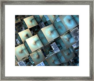 Fragmentary Framed Print by Kevin Trow