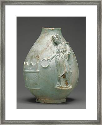 Fragmentary Oinochoe Unknown Egypt Framed Print by Litz Collection
