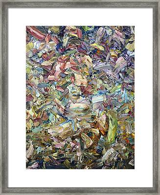 Roadside Fragmentation Framed Print by James W Johnson