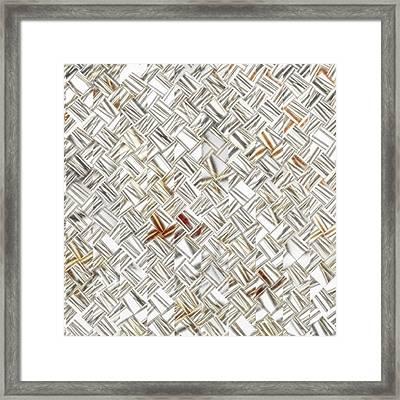 Fragmented - A Fractal Creation  Framed Print