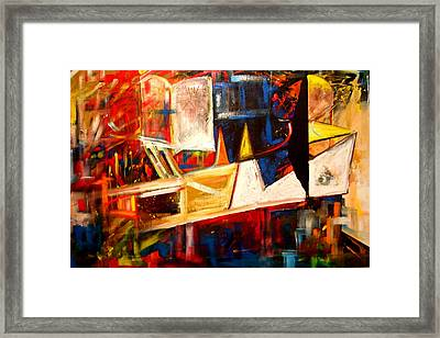 Fragmented Emancipation Framed Print by Laurend Doumba