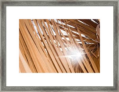 Fragmented Strength Framed Print
