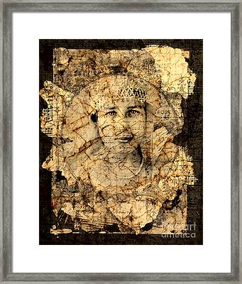 Fragments Framed Print by Judy Wood