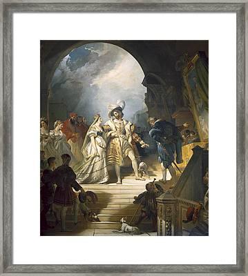 Fragonard, Alexandre Evariste Framed Print by Everett
