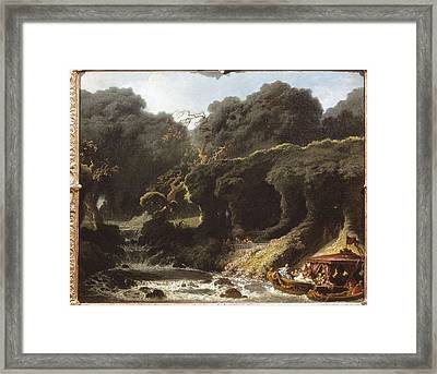 Fragonard, Jean Honor� 1732-1806. The Framed Print