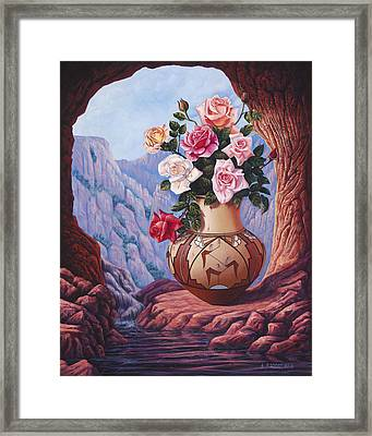 Fragrance And Dew Framed Print by Ricardo Chavez-Mendez