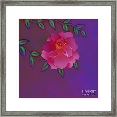 Framed Print featuring the digital art Fragrance by Latha Gokuldas Panicker