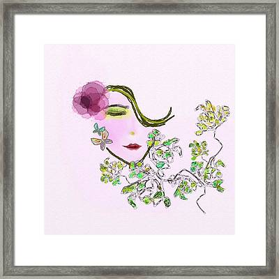 Fragrance Framed Print by Len YewHeng