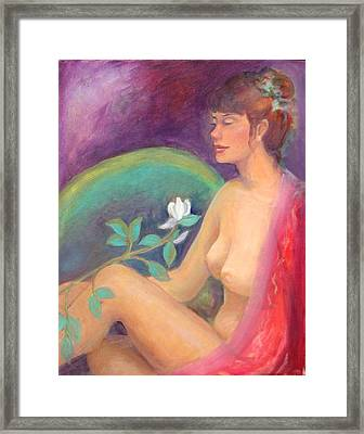 Fragrance Of A Dream Framed Print