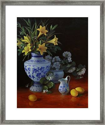 Fragrance Of Summer Framed Print
