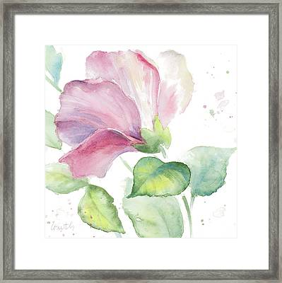 Fragrant Hibiscus I Framed Print
