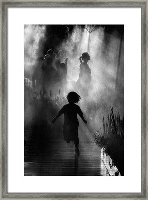 Fraicheur D'asie Framed Print