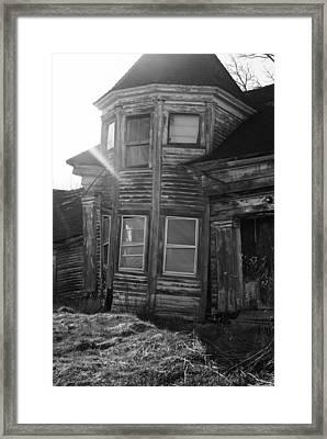 Frail Framed Print