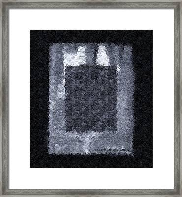 Framed And Betrayed Framed Print by Lenore Senior